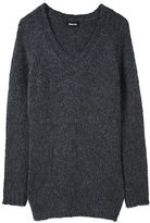 Mohair V-Neck Sweater