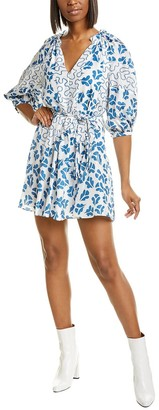 Rebecca Taylor Perla Silk A-Line Dress