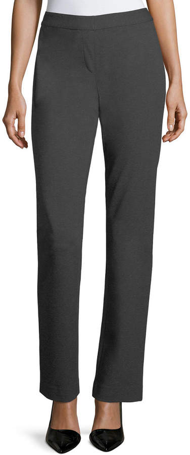 Lafayette 148 New York Punto Milano Straight-Leg Pants
