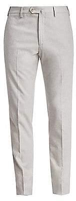 Loro Piana Men's Four-Pocket Flannel Slim Trousers