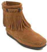 Minnetonka Hi-Top Back Zip Boots