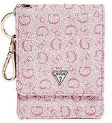 GUESS Women's Logo Card Case Keychain