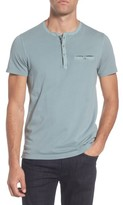 Ted Baker Men's Arrden Modern Slim Fit Short Sleeve Henley