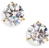 Nordstrom Women's Precious Metal Plated 8Ct Tw Cubic Zirconia Earrings