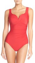 Miraclesuit Sweetheart Underwire One-Piece Swimsuit