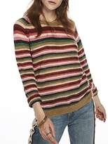 Scotch & Soda Maison Women's Knitted Stripe Pullover Jumper