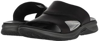Merrell Tideriser Luna Slide Leather (Black) Men's Shoes