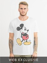 Junk Food Clothing Classic Mickey Mouse Tee-elecw-xl