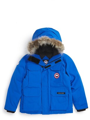 Canada Goose PBI Expedition Waterproof Down Parka with Genuine Coyote Fur Trim