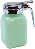 Tablecraft Jadeite Glass Collection Syrup Dispenser