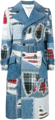 Junya Watanabe Denim Patchwork Coat