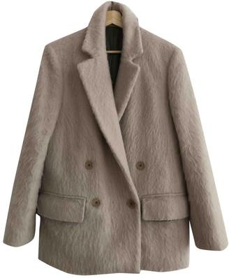 BLK DNM Pink Wool Coats