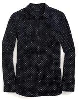 Tommy Hilfiger Final Sale-Long Sleeve Pindot Shirt