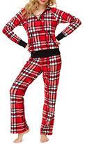 Betsey Johnson Microfleece Hoodie and Pajama Pants Set