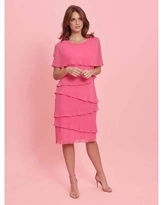Gina Bacconi Leonora Tiered Dress