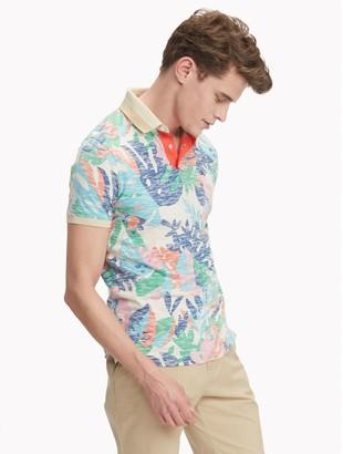 Tommy Hilfiger Custom Fit Essential Tropical Print Polo