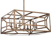 Feiss Marquelle Chandelier - Distressed Gold