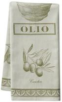 Williams-Sonoma Williams Sonoma Italian Jacquard Towel, Olive Oil