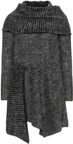 Inca Plus Size Shawl collar sweater dress