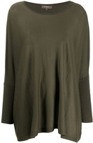 N.Peal lightweight cashmere poncho