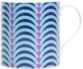 Jonathan Adler Carnaby Arches Mug, Blue & Purple