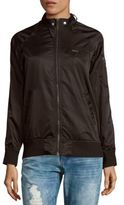 Members Only Raglan-Sleeve Camo-Print Jacket