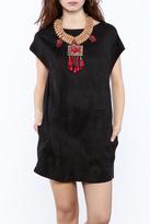 NU New York Suedette Mini Dress
