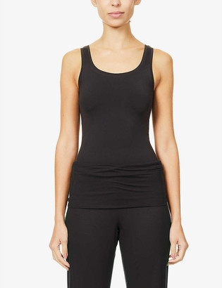 Hanro Touch Feeling stretch-woven vest top