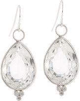 Jude Frances 18k White Gold Topaz & Diamond Earring Charms