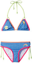 Seafolly Neon Pop Triangle Bikini (Little Kids/Big Kids)