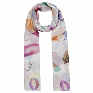 Codello Women's Hauchfeiner Schal mit Super Fine XL Scarf with Gelato Print