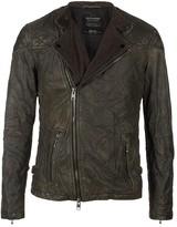 AllSaints Convoy Leather Biker Jacket