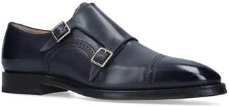 Bally Leather Scardino Monk Shoes