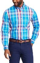 Chaps Men's Classic-Fit Stretch Poplin Button-Down Shirt