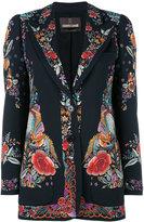 Roberto Cavalli floral print blazer - women - Spandex/Elastane/Viscose - 38