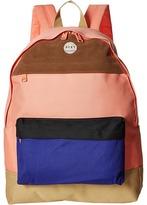 Roxy Sugar Baby Color Block Backpack