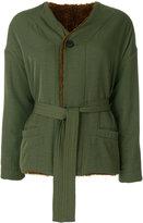 Bellerose belted jacket