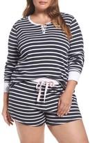 PJ Salvage Plus Size Women's Thermal Short Pajamas