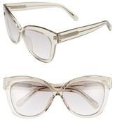 Linda Farrow 60mm Cat Eye Sunglasses