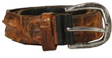Scunzani Crocodile Leather Belt