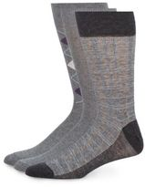 Saks Fifth Avenue Agryle Cotton-Blend Socks/3-Pack