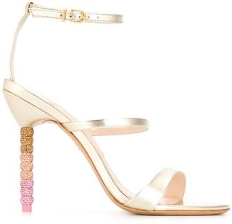 Sophia Webster Rosalind crystal-beaded heel pumps
