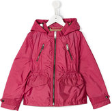Burberry zipped raincoat - kids - Polyamide/Polyester - 8 yrs