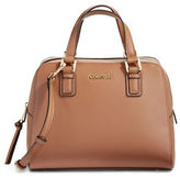 Calvin Klein Boxy Leather Tote Bag
