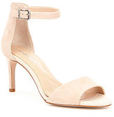 Gianni Bini Meria Banded Ankle Strap Leather Dress Sandals