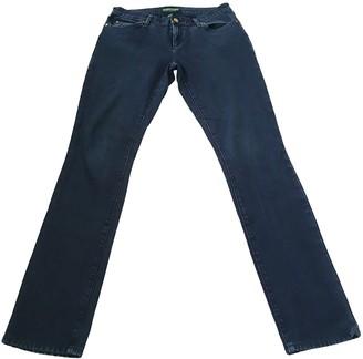 Lauren Ralph Lauren Blue Cotton - elasthane Jeans for Women
