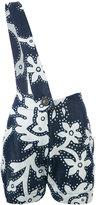 Vivienne Westwood shoulder strap shorts - women - Cotton/Lyocell - 40