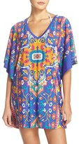 Trina Turk Women's 'Tapestry' Strappy Back Cover-Up Tunic