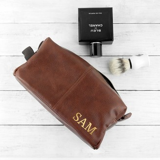 Personalised Father's DayVintage Style Wash Bag
