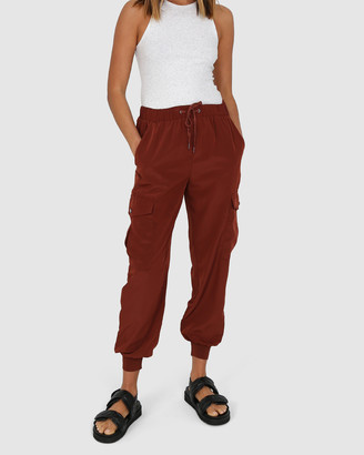 Madison The Label - Women's Cropped Pants - Jessie Joggers - Size One Size, S at The Iconic